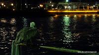 Fischen am Pier