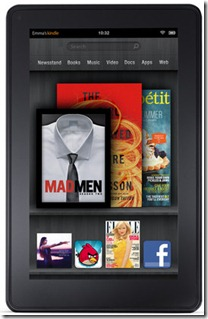 Windows 8 Tablet Vs Amazon Kindle Fire