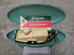 Singer buttonholer contents