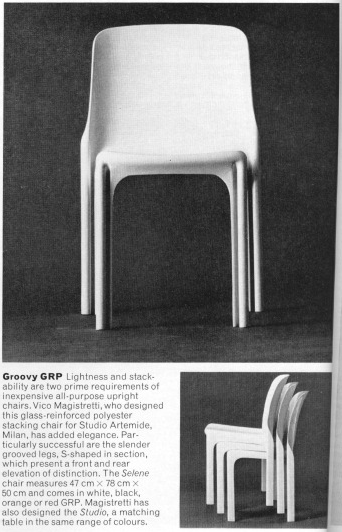 Selene chair in Design Magazine