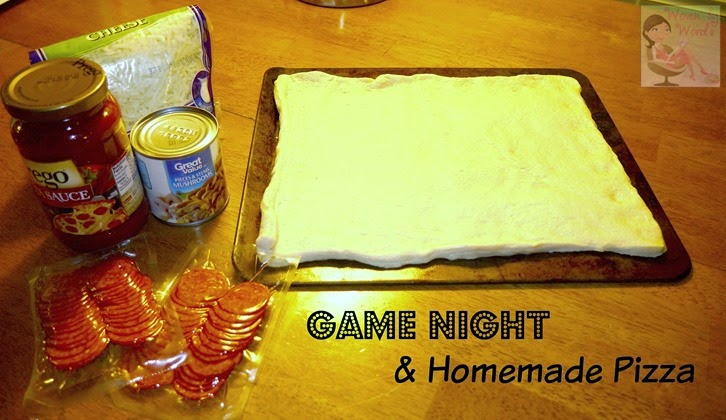 Game Night Pizza