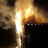Asbest vrij bij brand garagebox Oude Pekela - Foto's Freddy Stotefalk