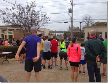 Athletes Corner 3 miler
