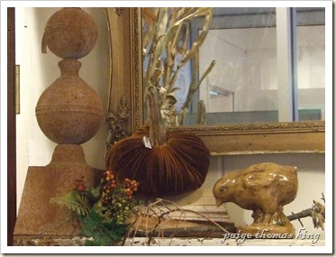 harvest plush pumpkin, chick and finial