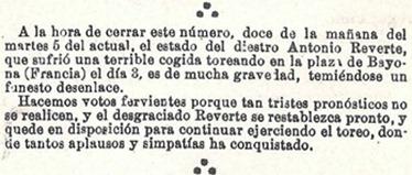 La cogida de Bayona suelto SyS 07-09-1899 001_thumb[2]