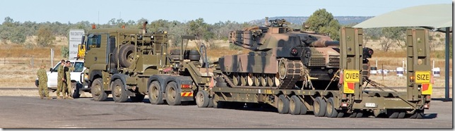 20110527-outback2011--winton--abrams-tank-and-transport