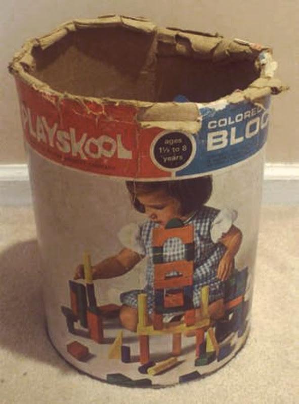 Playskool Blocks Front Side Of Package