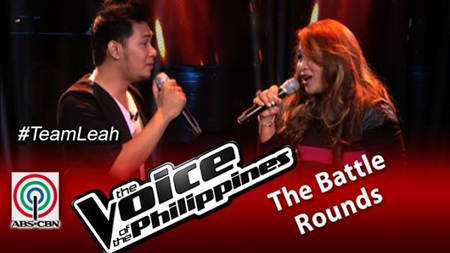 Humfrey Nicasio vs Leah Patricio - The Voice PH 2 Battle Rounds