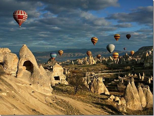 土耳其世界遺產區放氣球