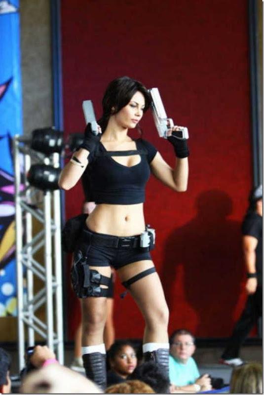 Os melhores cosplays de Lara Croft 20