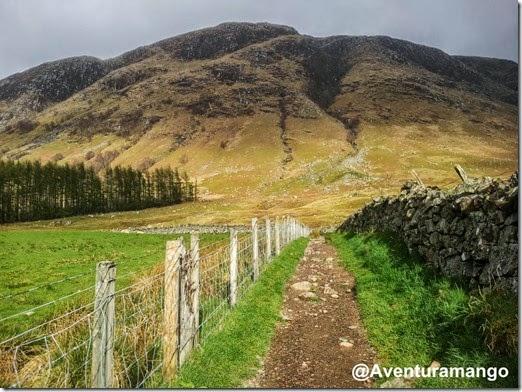 Início da trilha para o Ben Nevis - Escócia