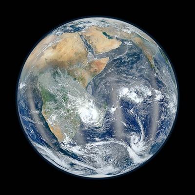 Blue Marble 2012 - Eastern Hemisphere
