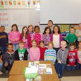 WBFJ Cici's Pizza Pledge - Walkertown Elementary - Ms Jones' 2nd Grade Class - Walkertown - 10-8-14