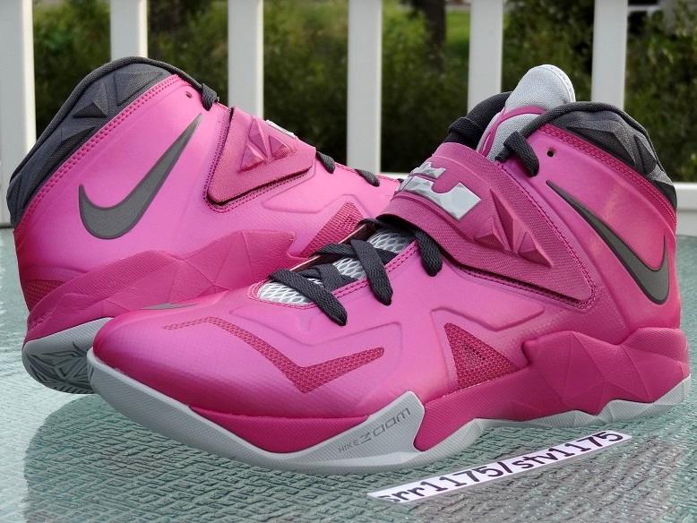 2db3ef33952f Nike Zoom LeBron Soldier VII 8211 Kay Yow Think Pink ...