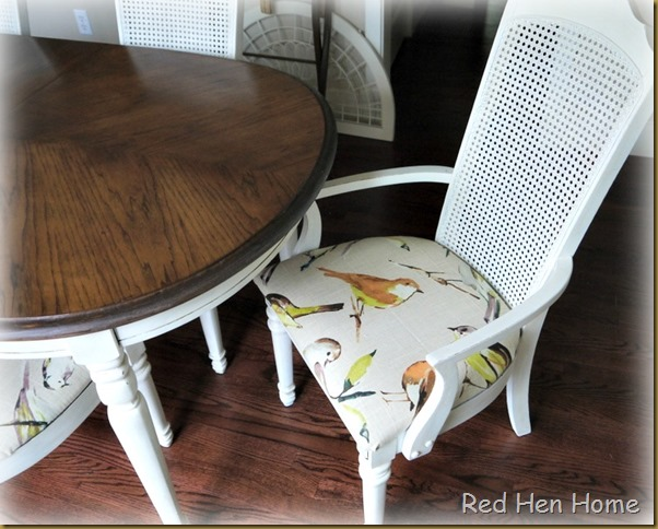 Red Hen Home:  Bird Dining Set
