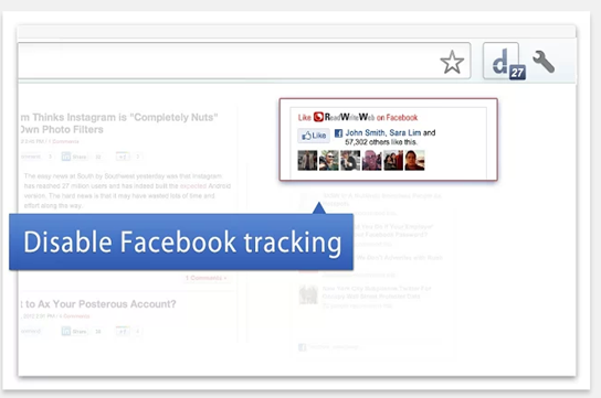 how to stop websites from tracking you chrome