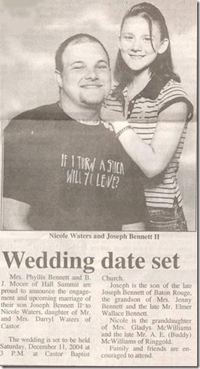 Redneck Engagement Picture