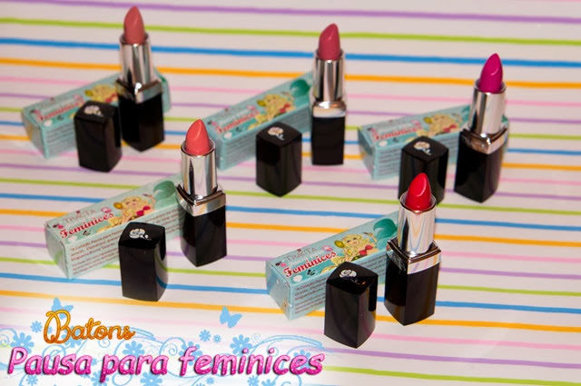 coleção batons pausa para feminices