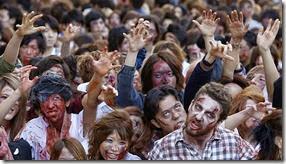 Tokyo zombie swarm