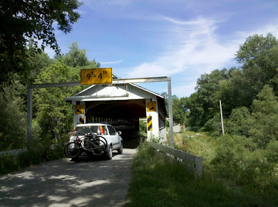 One of the many covered bridges in Ashtabula County, Ohio
