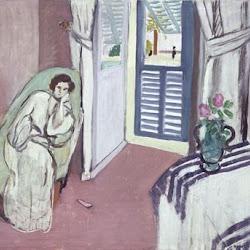 10.- Matisse. Mujer en el diván