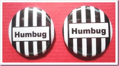 Christmas Humbug Badge