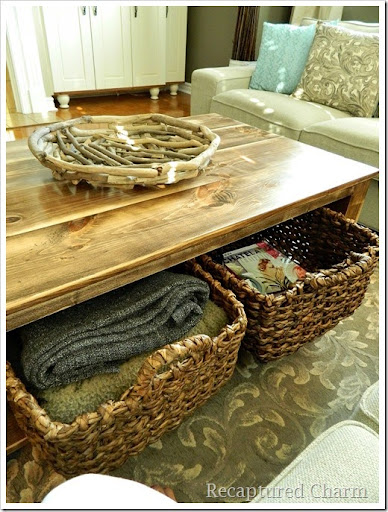 Rustic Coffee Table17