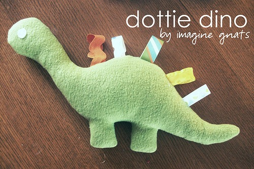 dinosaur softie sewing pattern