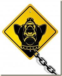 7715475-dangerous-guard-dog