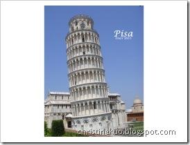 【Italy♦義大利】Pisa 比薩 – 聖跡廣場: 比薩斜塔, 大教堂, 洗禮堂, 聖墓園, 大教堂&西諾皮亞博物館… 力學奇蹟半日遊