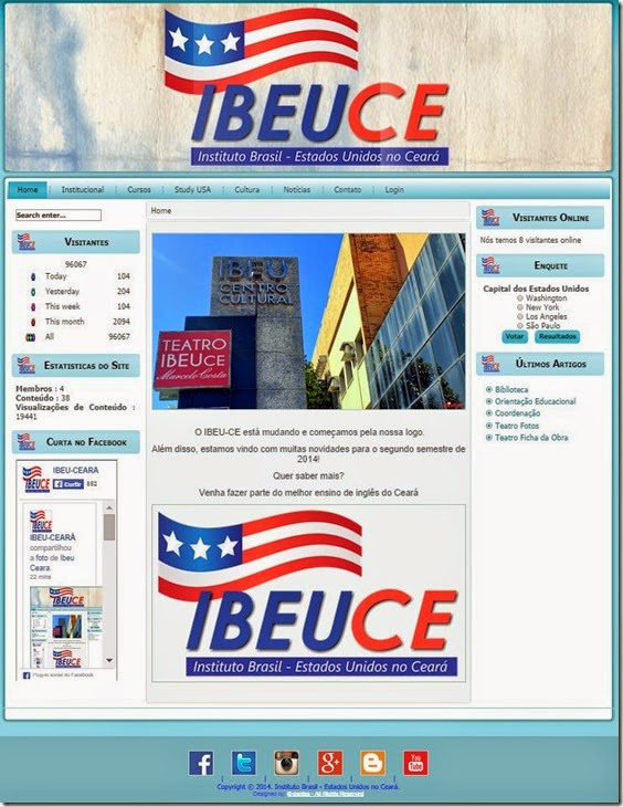 site do IBEU