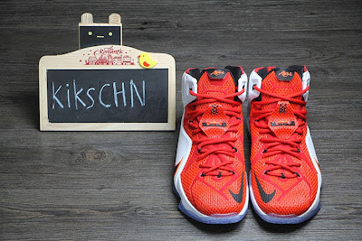 nike lebron 12 gr lion heart 3 12 Upcoming Nike LeBron XII (12) Red / White Lion Heart