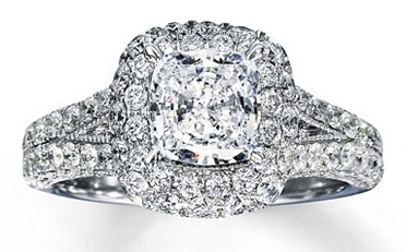 Tony Pieper to Blakeley Shea Jones 3.5 carat Diamond Proposal Ring