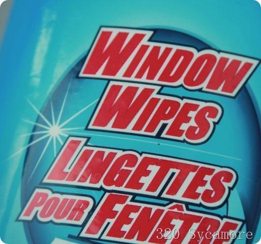 window wipes in car