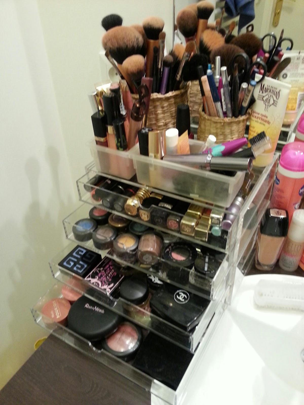 Make up cosm tics beauty - Rangement palette maquillage ...