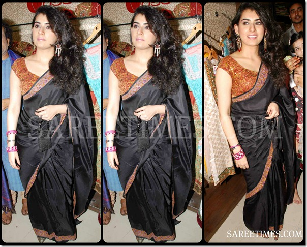 Archana_Black_Saree