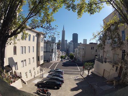 Vacanta San Francisco: Pe fundal Pyramid Tower