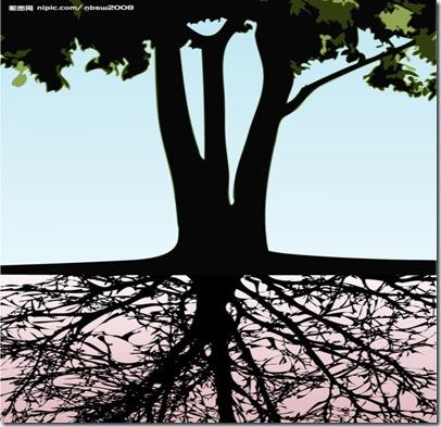 人見樹陰翠葉,何知地下之根
