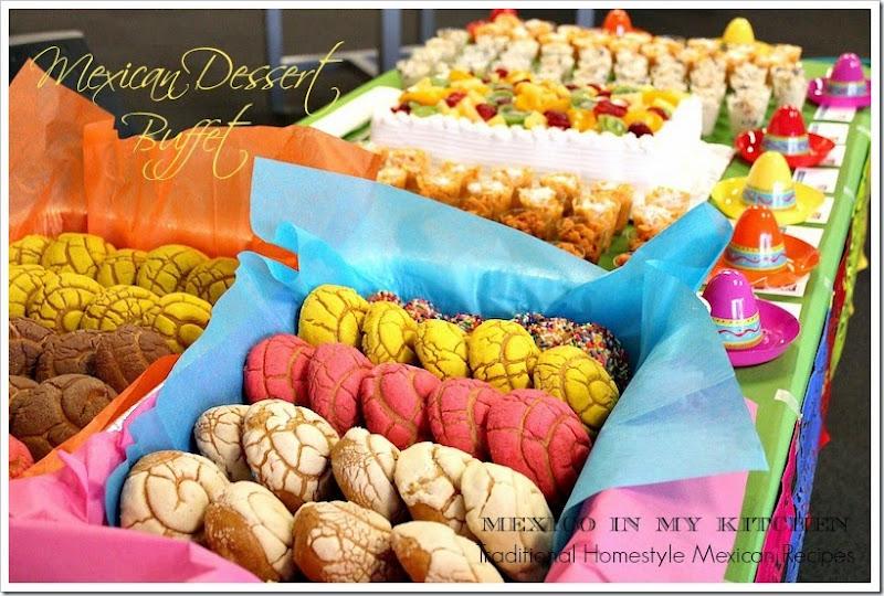Mexican dessert buffet1