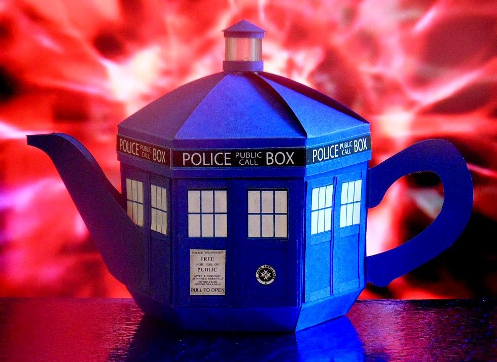 Esselle Crafts: TARDIS Teapot Box