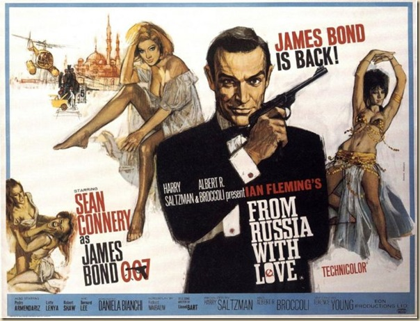 Affiche cinéma de James Bond (2)