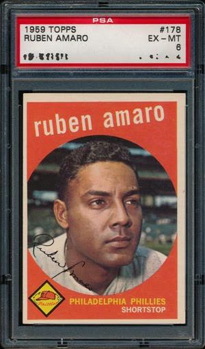 1959 Topps 178 Ruben Amaro