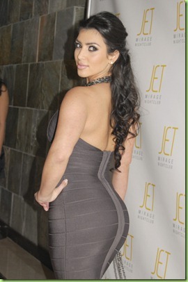 Kim Kardashian - Birthday Party - Jet at the Mirage - Las Vegas - 10-26-07