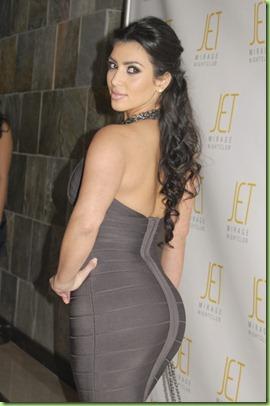 Kim Kardashian - Birthday Party - Jet at the Mirage - Las Vegas - 10-26-07