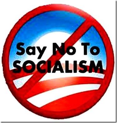 no to socialism