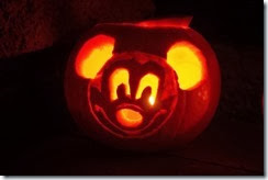 Mickey Mouse Pumpkin II
