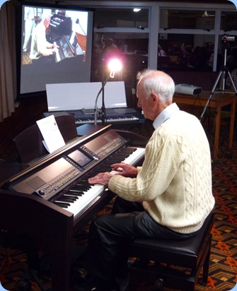 Our special guest artist, Rendall Miller thrilled the audience with his programme of light classical style piano