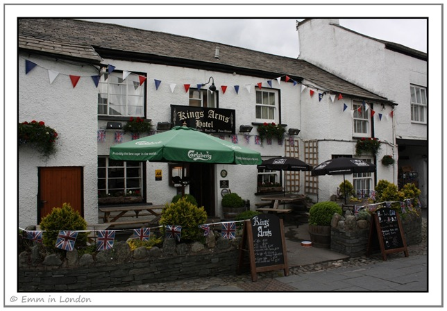 Kings Arms Hote Hawkshead