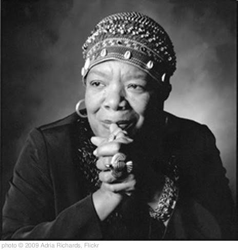 &#39;My Heroes - Maya Angelou connected with countless people through her powerful poetry&#39; photo (c) 2009, Adria Richards - license: http://creativecommons.org/licenses/by-sa/2.0/