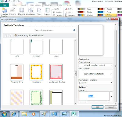 tutorial invitatie in microsoft publisher 2010